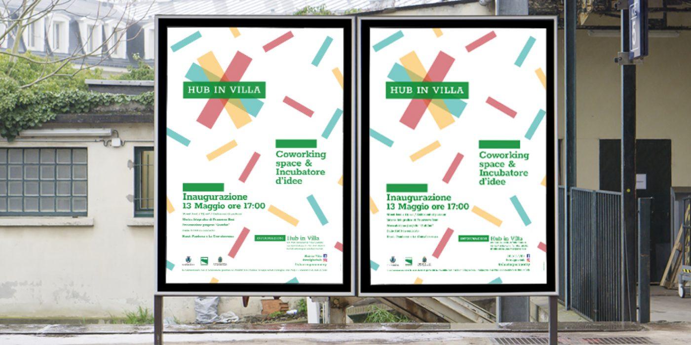 Hub-in-villa-logo-design-andrea-leonardi-poster