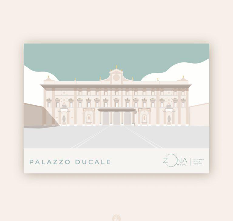 illustrazione palazzo ducale sassuolo